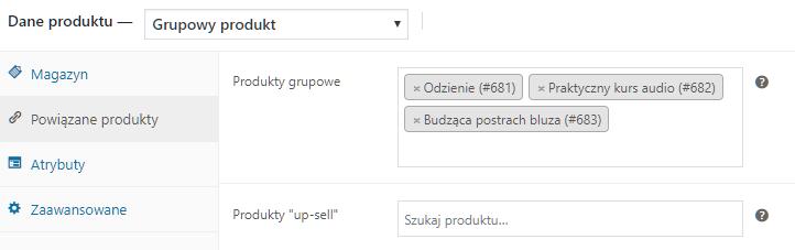 Powiązane produkty
