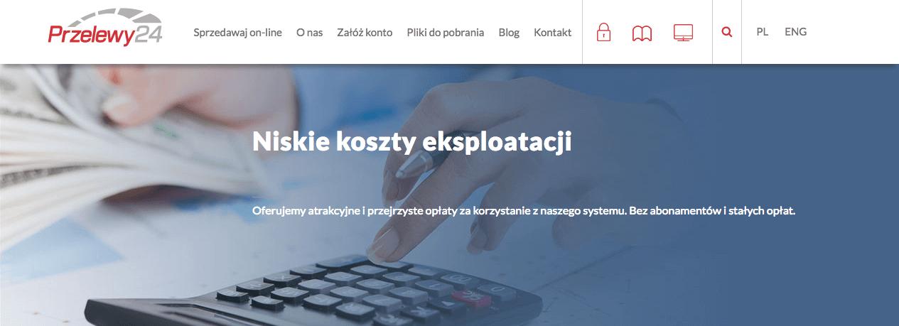 Przelewy24 opłaty