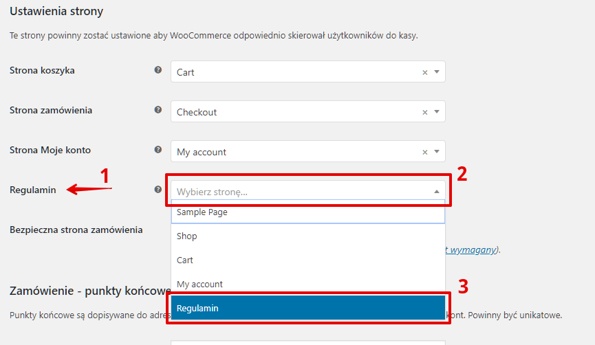 woocommerce advanced site settings