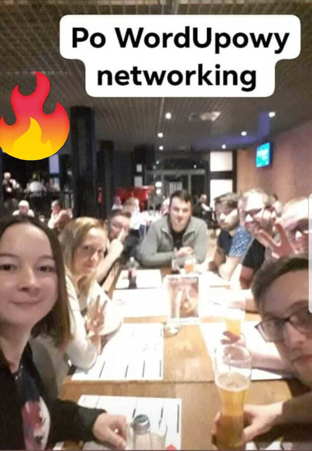 networking WordUp Poznań
