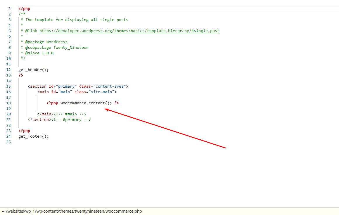 Edycja pliku page.php